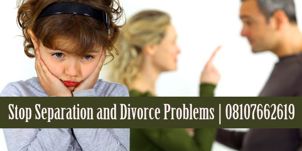 Stop Separation and Divorce Problems